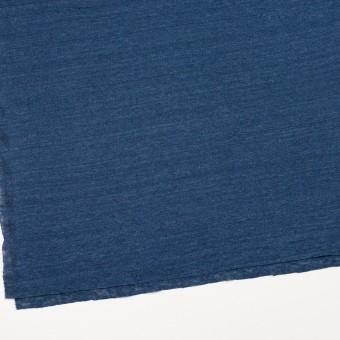 リネン×無地(ブルー)×天竺ニット_全5色 サムネイル2