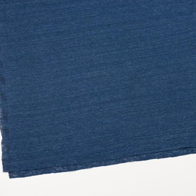 リネン×無地(ブルー)×天竺ニット_全5色 イメージ2