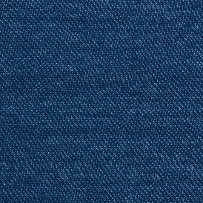 リネン×無地(ブルー)×天竺ニット_全5色 イメージ1