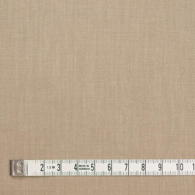 コットン&リネン×無地(カーキベージュ)×サージ イメージ4