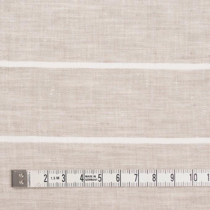 リネン&コットン×ボーダー(キナリ)×サージ イメージ4