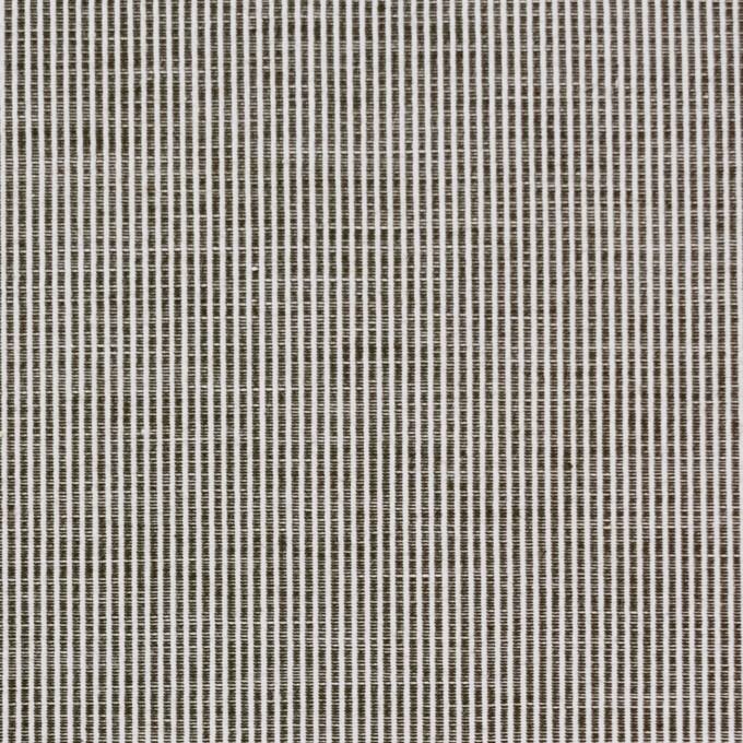 コットン×ストライプ(チャコールグレー)×コードレーン イメージ1