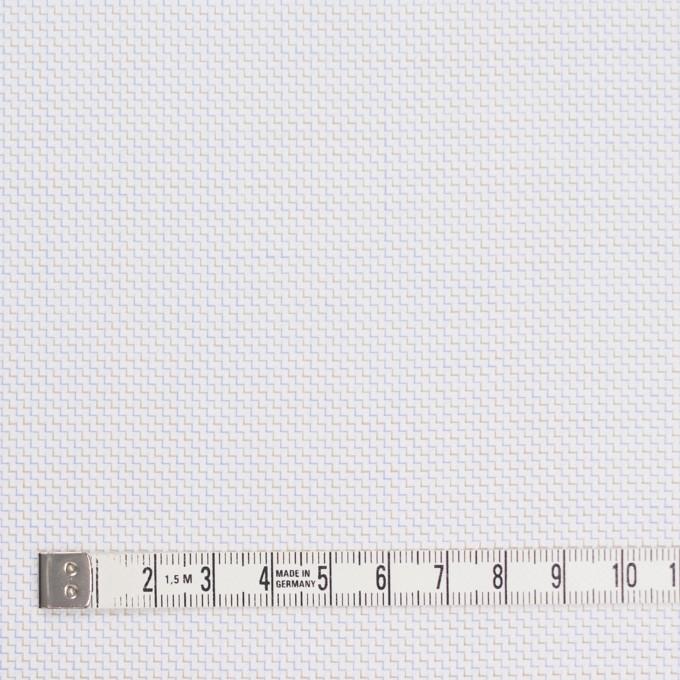 コットン×バイヤス(ベージュ&サルビアブルー)×ヘリンボーン イメージ4