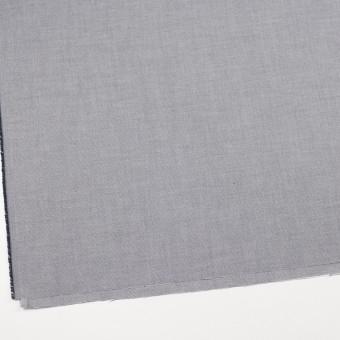 コットン×無地(ダークネイビー)×かわり織 サムネイル2