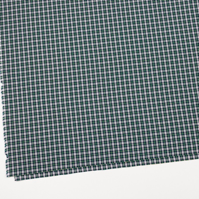 コットン×チェック(イエロー&モスグリーン)×ブロード イメージ2