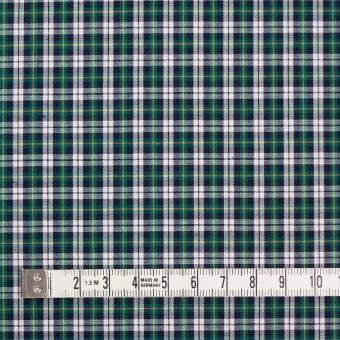 コットン×チェック(イエロー&モスグリーン)×ブロード サムネイル4