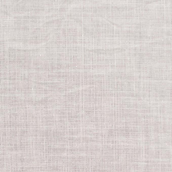 コットン&リネン×無地(アイボリー)×ボイルワッシャー_全6色 イメージ1