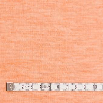 コットン&リネン×無地(オレンジ)×ボイルワッシャー_全6色 サムネイル4