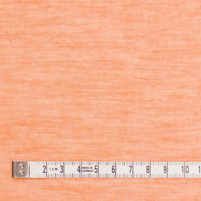 コットン&リネン×無地(オレンジ)×ボイルワッシャー_全6色 イメージ4