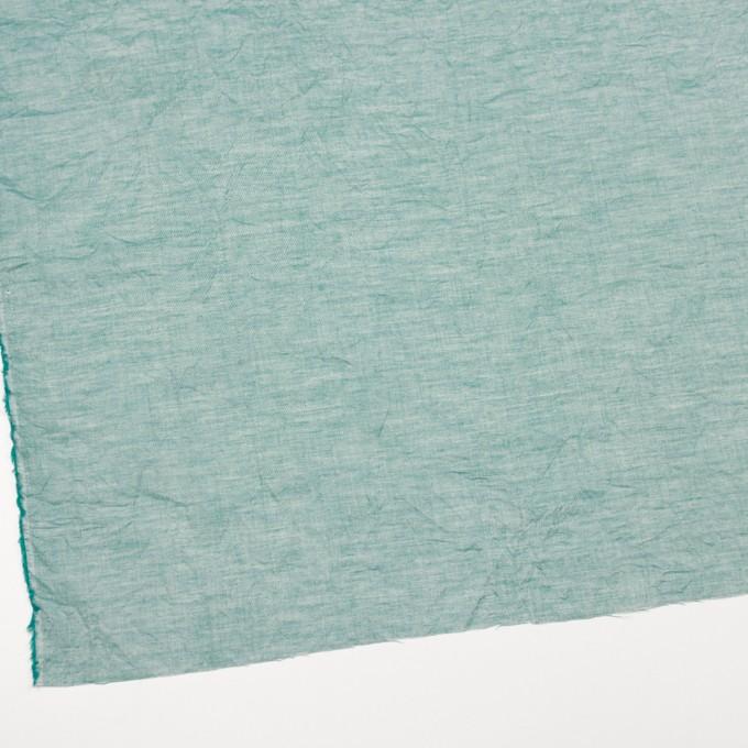 コットン&リネン×無地(シーグリーン)×ボイルワッシャー_全6色 イメージ2