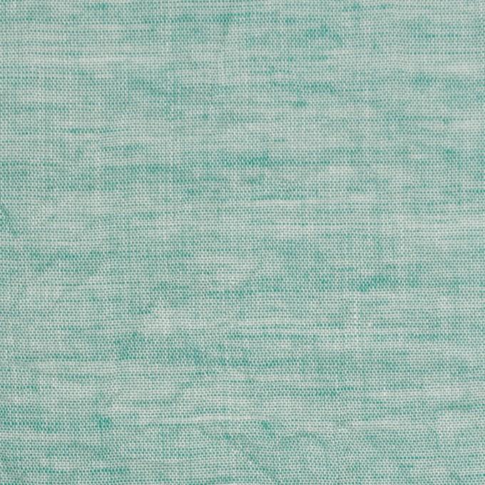 コットン&リネン×無地(シーグリーン)×ボイルワッシャー_全6色 イメージ1