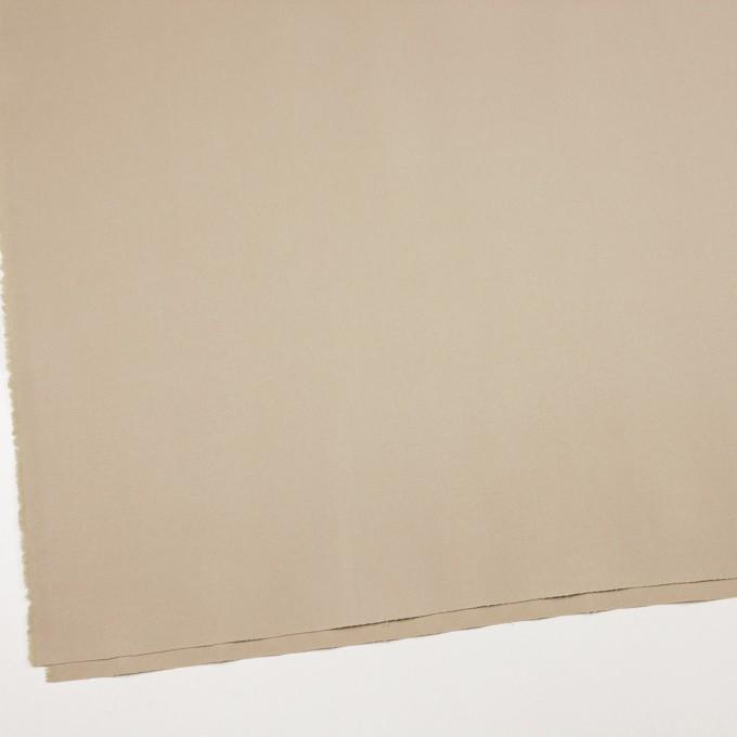 コットン&ポリウレタン×無地(ベージュ)×ギャバジンストレッチ_全4色 イメージ2