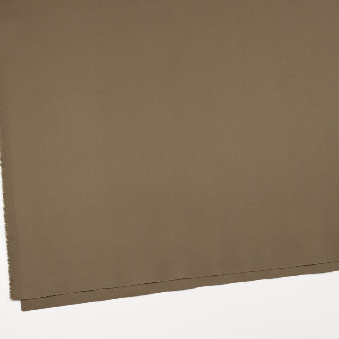 コットン&ポリウレタン×無地(カーキブラウン)×ギャバジンストレッチ_全4色 イメージ2