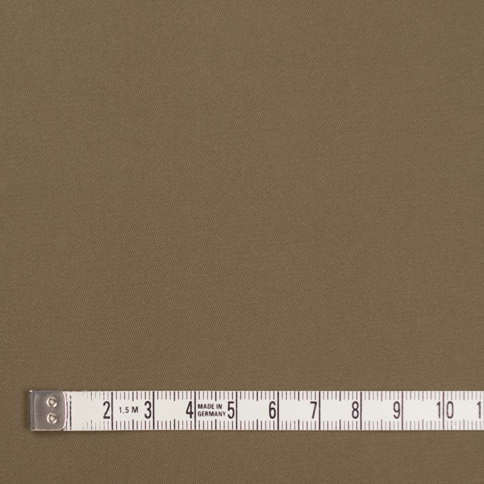 コットン&ポリウレタン×無地(カーキブラウン)×ギャバジンストレッチ_全4色 イメージ4