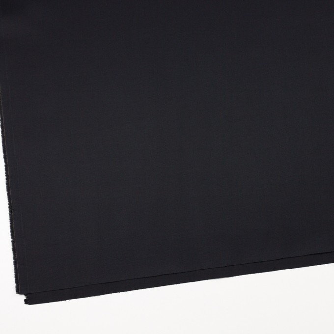 コットン&ポリウレタン×無地(ブラック)×ギャバジンストレッチ_全4色 イメージ2