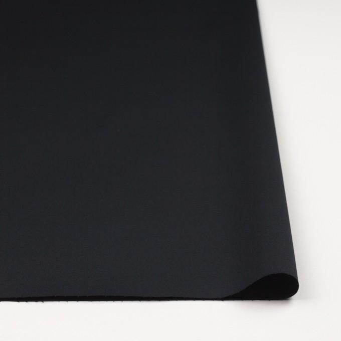 コットン&ポリウレタン×無地(ブラック)×ギャバジンストレッチ_全4色 イメージ3