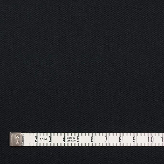 コットン&ポリウレタン×無地(ブラック)×ギャバジンストレッチ_全4色 イメージ4