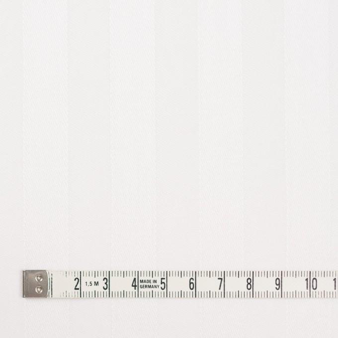コットン&リネン×無地(ホワイト)×サテンジャガード イメージ4