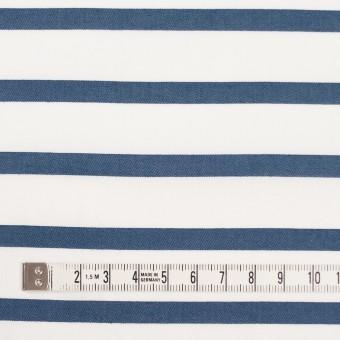 コットン×ボーダー(アッシュブルー)×ブロードジャガード サムネイル4