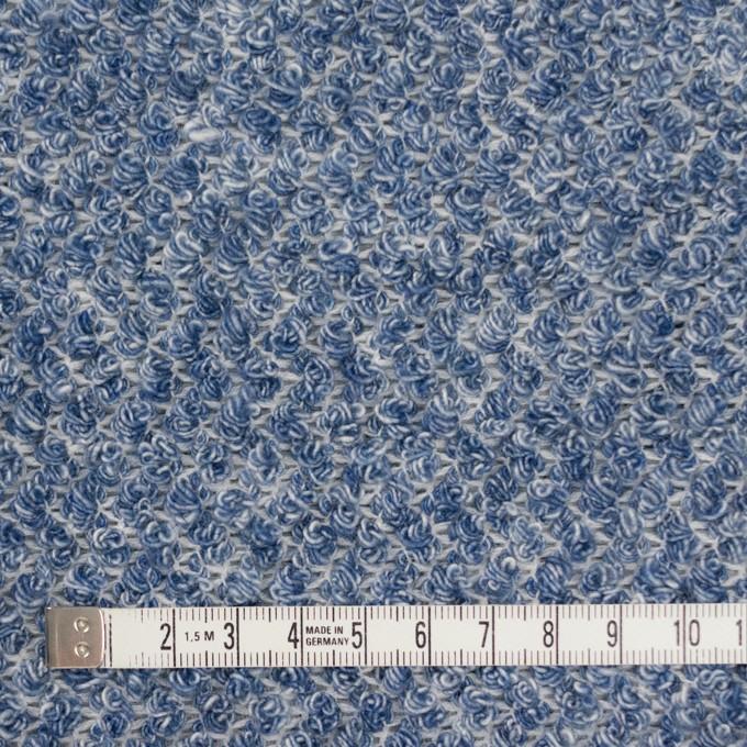 コットン×ミックス(ブルー)×かわり織 イメージ4