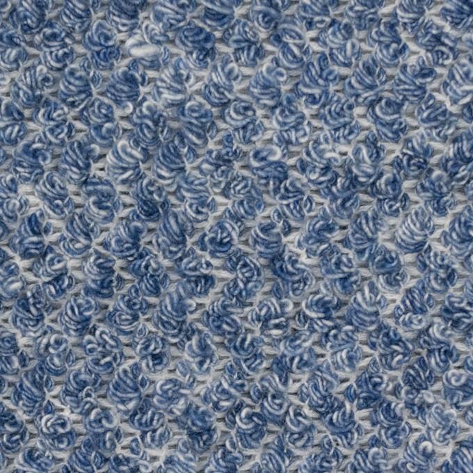 コットン×ミックス(ブルー)×かわり織 イメージ1