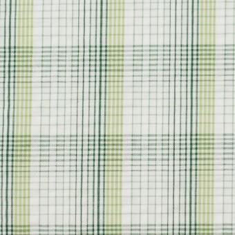 コットン×チェック(イエローグリーン)×サッカー_全3色 サムネイル1