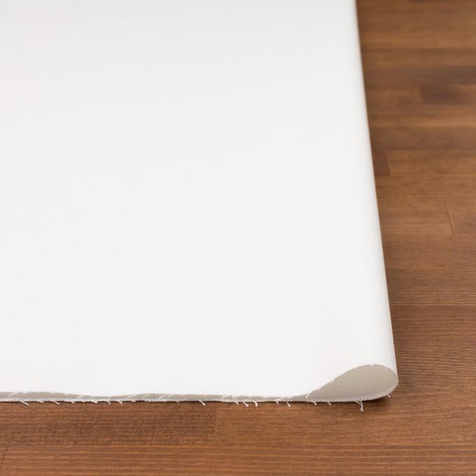 コットン&ポリウレタン×無地(オフホワイト)×カツラギストレッチ イメージ3