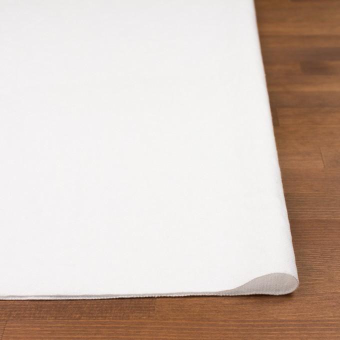 コットン&ポリエステル×無地(ホワイト)×ソフトキャンバス_全2色 イメージ3