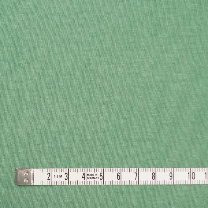 コットン×無地(グリーン)×天竺ニット_全2色 イメージ4