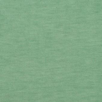 コットン×無地(グリーン)×天竺ニット_全2色 サムネイル1