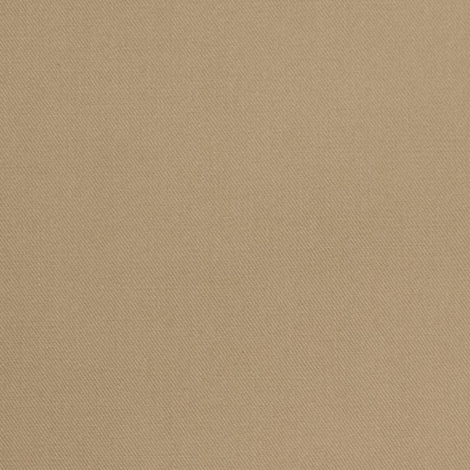 コットン×無地(カーキベージュ)×チノクロス_パラフィン加工_全2色 イメージ1