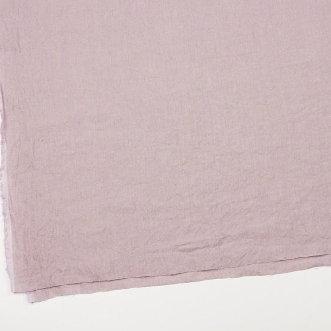 リネン×無地(グレイッシュピンク)×薄キャンバスワッシャー_全3色 イメージ2