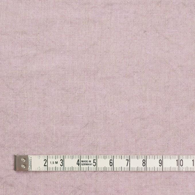 リネン×無地(グレイッシュピンク)×薄キャンバスワッシャー_全3色 イメージ4