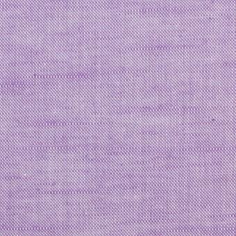 コットン&リネン×無地(モーブ)×オックスフォードシャンブレー サムネイル1