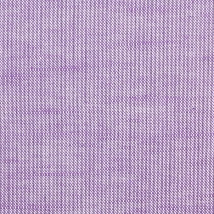 コットン&リネン×無地(モーブ)×オックスフォードシャンブレー イメージ1
