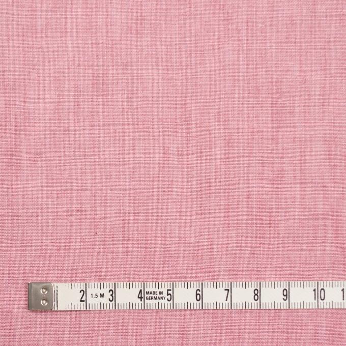リネン&コットン×無地(ローズピンク)×薄キャンバス_全2色 イメージ4