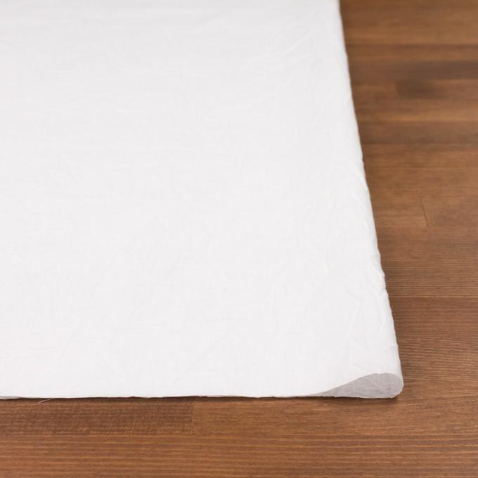 コットン&リネン×無地(ホワイト)×ボイルワッシャー_全5色 イメージ3