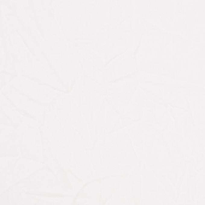 コットン&リネン×無地(ホワイト)×ボイルワッシャー_全5色 イメージ1