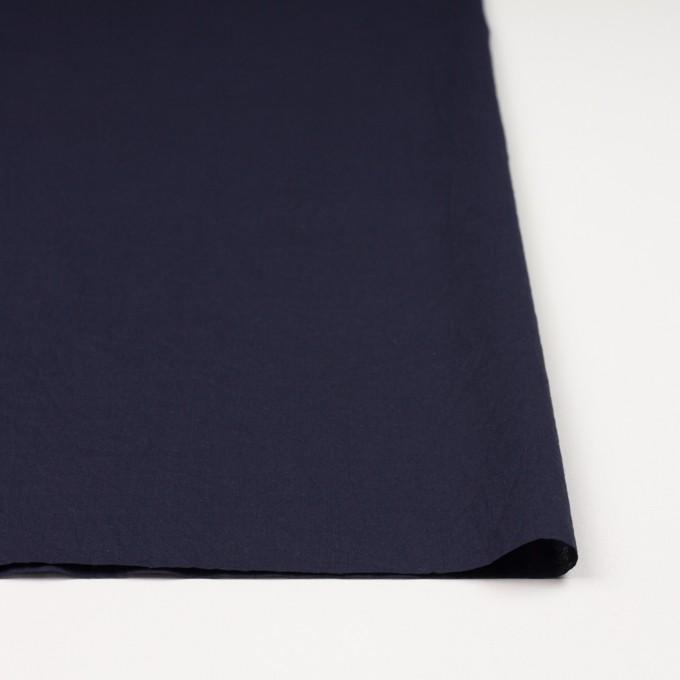 コットン&リネン×無地(ネイビー)×ボイルワッシャー_全5色 イメージ3
