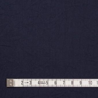 コットン&リネン×無地(ネイビー)×ボイルワッシャー_全5色 サムネイル4