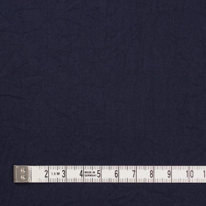 コットン&リネン×無地(ネイビー)×ボイルワッシャー_全5色 イメージ4
