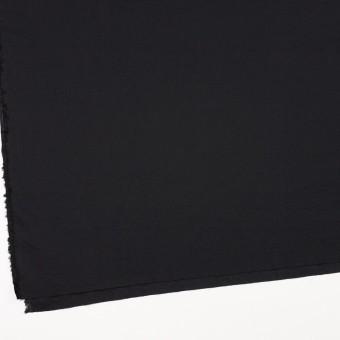 コットン&リネン×無地(ブラック)×ボイルワッシャー_全5色 サムネイル2