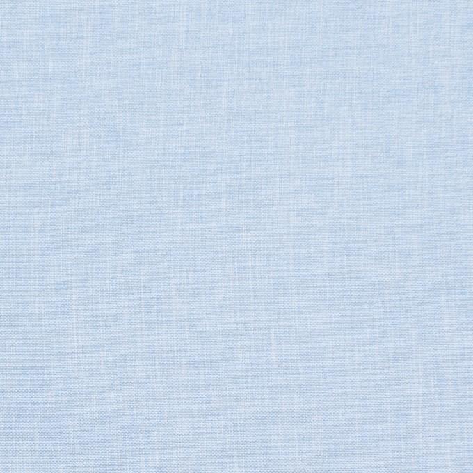 ナイロン&コットン×無地(サックス)×シャンブレー・ローン イメージ1