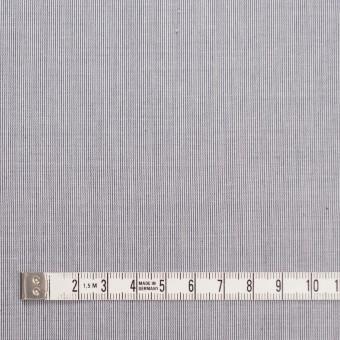 コットン&リネン×ストライプ(ネイビー)×ローン サムネイル4