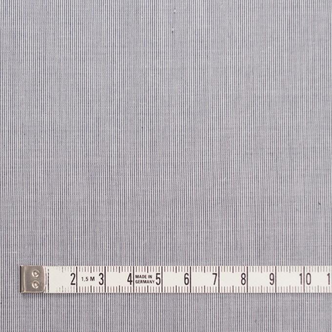コットン&リネン×ストライプ(ネイビー)×ローン イメージ4