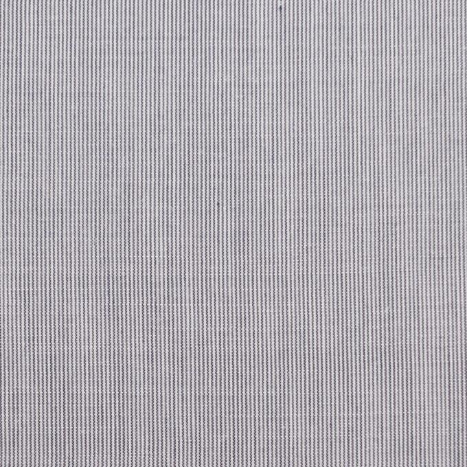 コットン&リネン×ストライプ(ネイビー)×ローン イメージ1