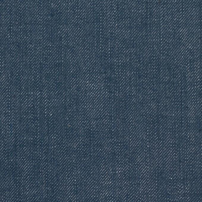 コットン×無地(インクブルー)×デニム イメージ1