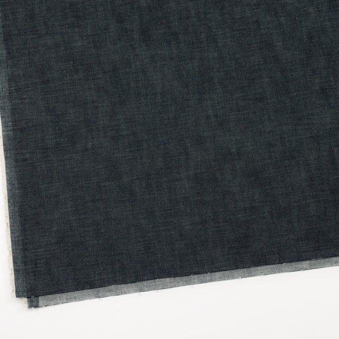 コットン&ポリウレタン×無地(インディゴ)×デニムストレッチ イメージ2