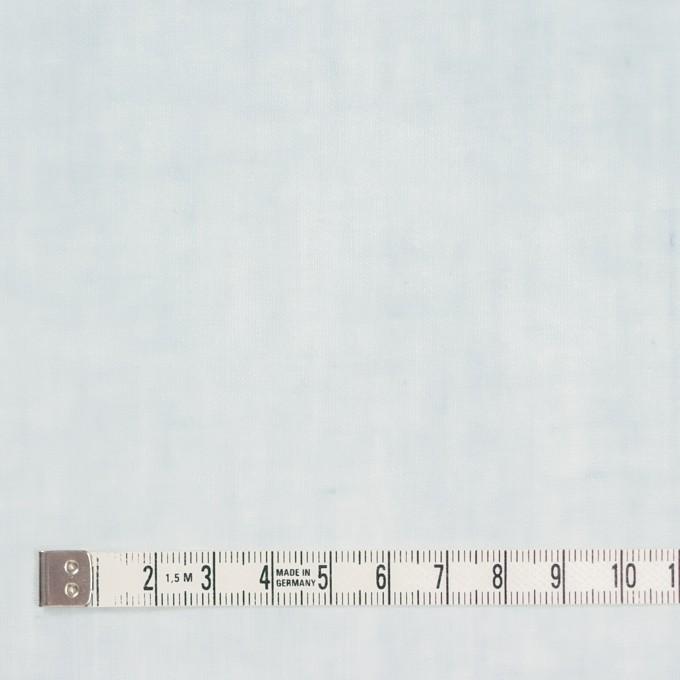 コットン×無地(シャーベットブルー)×ボイル_全9色_フランス製 イメージ4