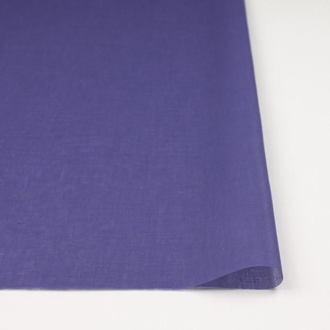 コットン×無地(バイオレット)×ボイル_全9色_フランス製 イメージ3